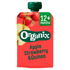 Organix Bio Knijpzakje Just Apple Strawberry Quinoa