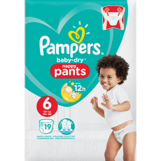 Pampers Baby-Dry Pants 6