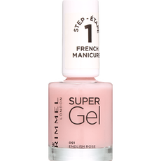 Rimmel London Super Gel French Manicure - 091 English Rose