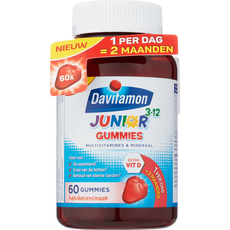 Davitamon Junior 3-12 Gummies Aardbeiensmaak