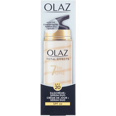 Olaz Total Effects 7in1 Dagcrème En Serum Duo SPF 20 40 ml