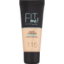 Maybelline Fit Me Matte + Poreless Foundation 115 Ivory