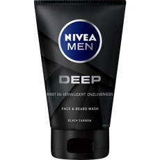 NIVEA MEN DEEP Face & Beard Wash 100 ML