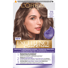 L'Oréal Paris Excellence Cool Creams 7.11 - Ultra Ash Blond - Permanente haarverf
