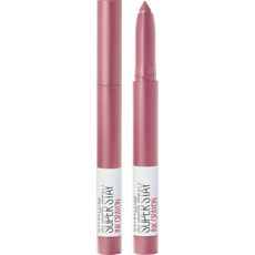 Maybelline SuperStay Ink Crayon Lipstick - 30 Seek Adventure - Roze - Matte Lippenstift