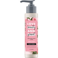Love Beauty And Planet Muru Muru Butter & Rose Petal Polish Gezichtsscrub