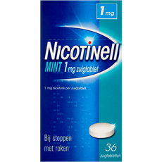 Nicotinell Mint 1 mg Zuigtabletten