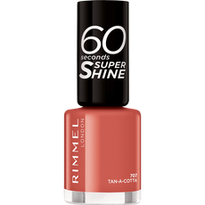 Rimmel London 60 Seconds Supershine Nailpolish - 707 Tan-A-Cotta