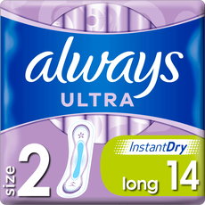 Always Ultra Maandverband (Maat 2) Long 14 stuks