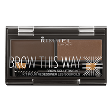 Rimmel Brow This Way Eyebrow Kit Wenkbrauwpoeder 003 Dark Brow 3.27 g
