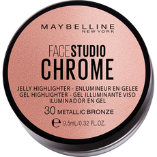 Maybelline Facestudio Chrome Jelly Highlighter - 30 Metallic Bronze - Highlighter