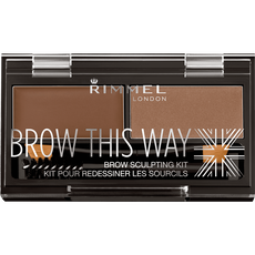 Rimmel London Brow This Way Kit Wenkbrauwpoeder 002 Brown