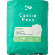 Etos Control Pants Medium, incontinentiebroekje Medium, 12 stuks