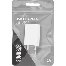 Sundaze - USB Wall Charger - 1 Port - White
