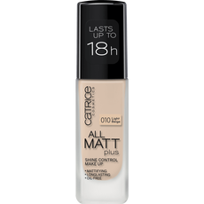 Catrice All Matt Plus Shine Control Foundation 010 Light Beige