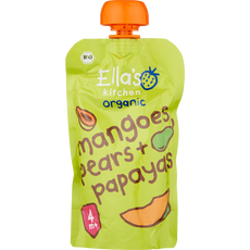 Ella's Kitchen Mangoes, Pears & Papayas 4+ Maanden