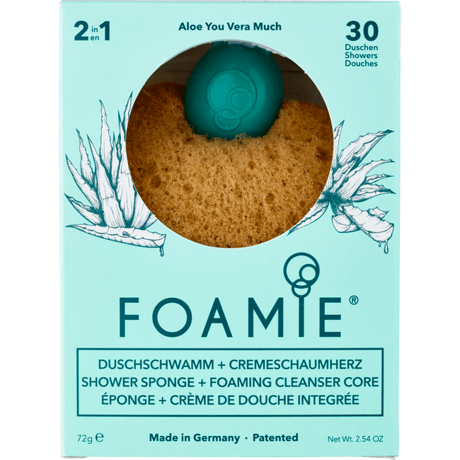 Foamie Sponge Aloë You Vera Much