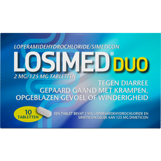 Losimed Duo 2 MG/ 125 MG Tabletten
