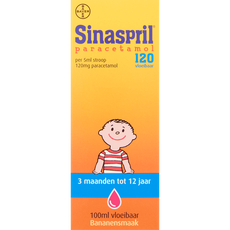 Sinaspril Vloeibaar Paracetamol 120 mg 100 ML