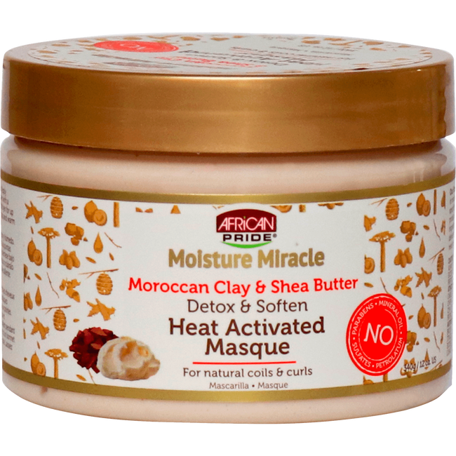 African Pride Moisture Miracle Heat Activated Mask