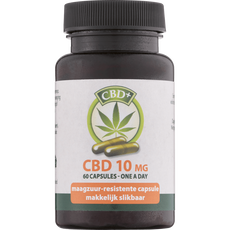 Jacob Hooy CBD Capsules 10 mg
