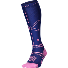 Stox Sports Socks Women - Dark Blue / Pink - W3 - 1 Paar