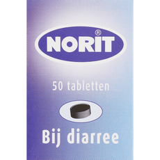 Norit 125 mg 50 tabletten