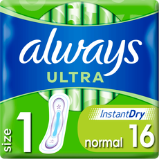 Always Ultra Maandverband (Maat 1) Normal 16 stuks