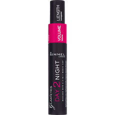 Rimmel London Day2Night Mascara - 001 Black