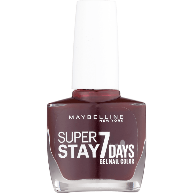 Maybelline Superstay 7 Days Gel Nail Color 287 Midnight Red