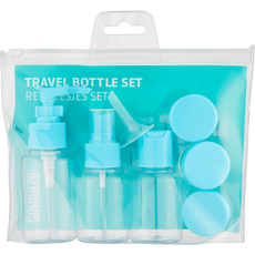 Sundaze Travel Bottle Set Blue