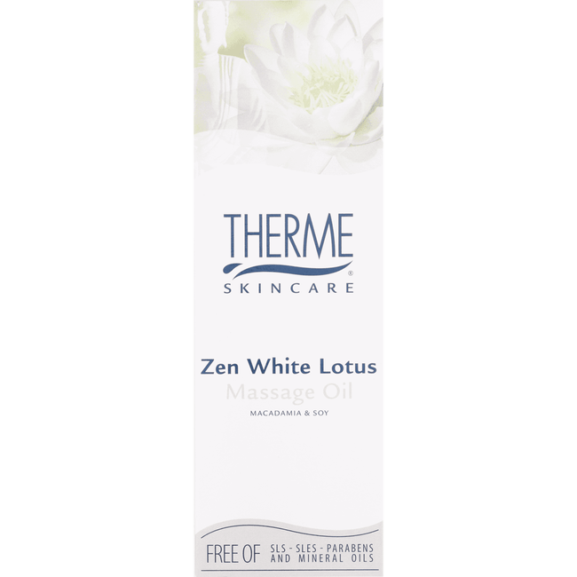 Therme Zen White Lotus Massage Oil
