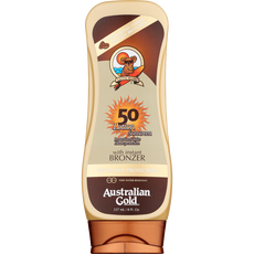 Australian Gold Lotion With Instant Bronzer SPF50