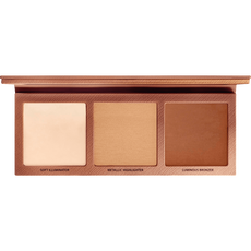 L.O.V The Glowrious Highlighting & Bronzing Palette 020 Gold Attraction