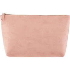 Cosmetic Bag Suede Pink