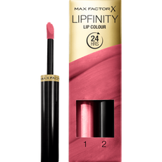 Max Factor Lipfinity Lip Colour 2-Step Long Lasting Lipstick - 330 Essential Burgundy