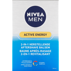 NIVEA MEN Active Energy 2-In-1 Herstellende Aftershave Balsem