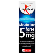 Lucovitaal Melatonine Forte 5 mg Tabletjes