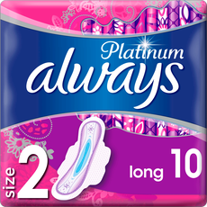 Always Platinum Ultra Long Maandverband