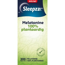 Sleepzz Melatonine 100% Plantaardig 0,1mg