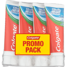 Colgate Triple Action 4-pack Tandpasta