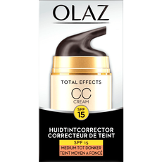 Olaz Total Effects 7in1 CC Cream SPF15 Medium/Donker 50 ml