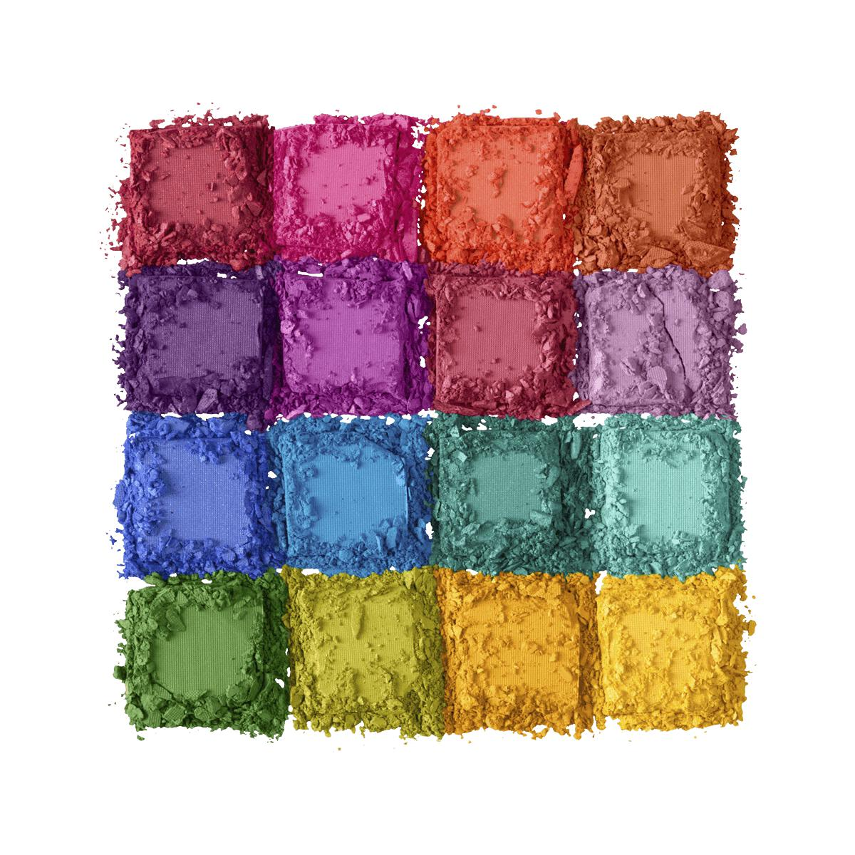 NYX Professional Makeup Ultimate Shadow Palette Brights USP04