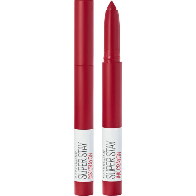 Maybelline SuperStay Ink Crayon Lipstick - 50 Own Your Empire - Rood - Matte Lippenstift