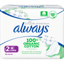 Always Cotton Protection Ultra Maandverband Met Vleugels (Maat 2) 10 Stuks