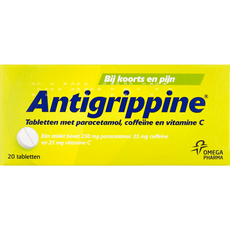 Davitamon Antigrippine Tabletten met paracetamol