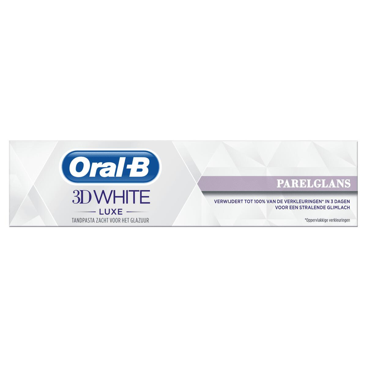 Oral-B 3D White Luxe Pearl Glow Whitening Tandpasta 75 ML