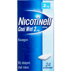 Nicotinell Cool Mint Kauwgom 2 mg