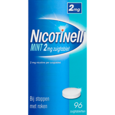 Nicotinell Mint 2 mg Zuigtabletten