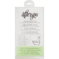 AfterSpa Bath & Shower Exfoliating Wash Cloth